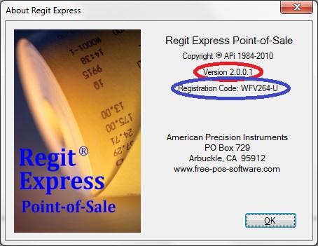 Regit Express Free POS Software